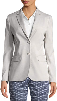 Piazza Sempione Women's Two-Button Blazer