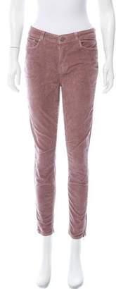 Paige Corduroy Mid-Rise Jeans