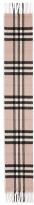 Burberry Kids' Exploded Check Cashmere Scarf, Ash Rose