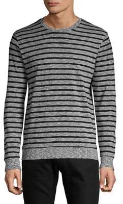 Lucky Brand Heathered Striped Pullover
