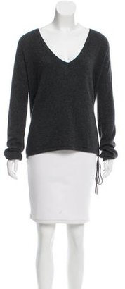 Zadig & Voltaire Embellished Cashmere Sweater $125 thestylecure.com