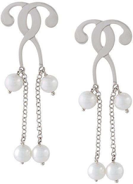 MoschinoMoschino pearl drop earrings
