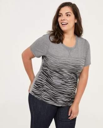 Penningtons Curve Fit Printed T-Shirt - d/C JEANS