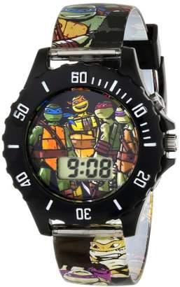 Nickelodeon Teenage Mutant Ninja Turtles Kids' TMN4084 Digital Watch With Printed Band