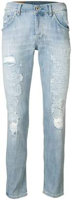 Dondup washed distressed jeans