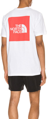 The North Face S/S Red Box Heavyweight Tee in TNF White & TNF Red | FWRD