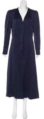 Lanvin 2015 Long Sleeve Maxi Dress w/ Tags
