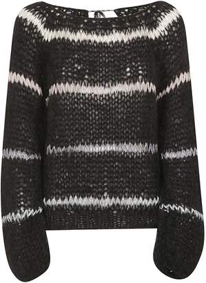 Maiami Perforated Sweater