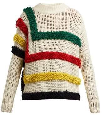 Spencer Vladimir - Glacier Park Cashmere Sweater - Womens - Cream Multi