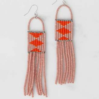Bohemia Melako Beaded Earrings, Beadworks Kenya Jewellery