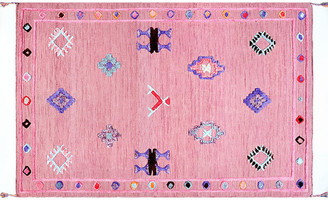 One Kings Lane Ivey Kids' Rug - Pink