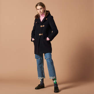 Sandro Wool duffle coat