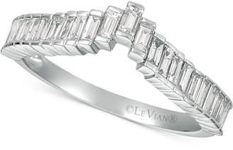 LeVian Le Vian Baguette FrenzyTM Diamond Ring (1/2 ct. t.w.) in 14k White Gold