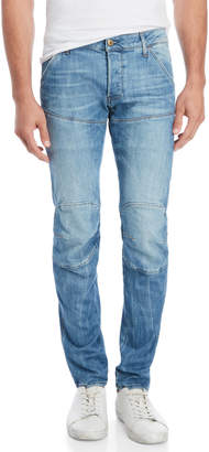 G Star Raw Tapered Knee Patch Jeans
