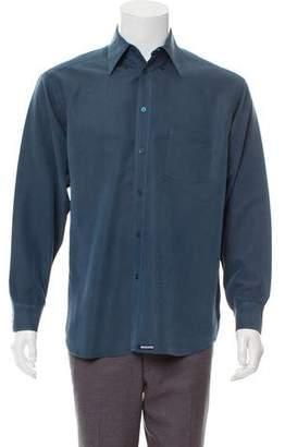 Ted Baker Bias Stripe Button-Up Shirt