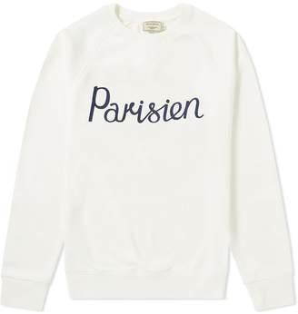 MAISON KITSUNÉ Parisien Crew Sweat