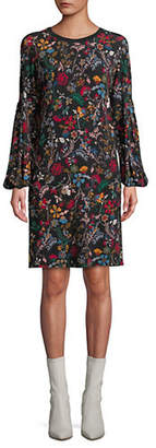 Max Mara Floral-Print Shift Dress