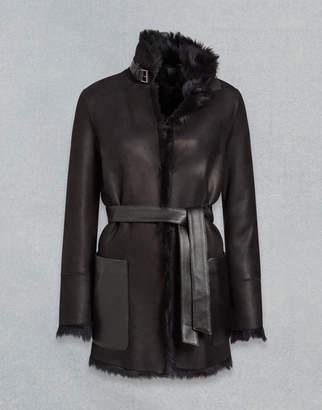 Belstaff Borrowdale Reversible Coat Black UK 6 /