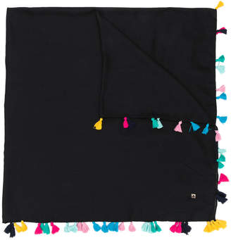 Twin-Set colour tassel scarf