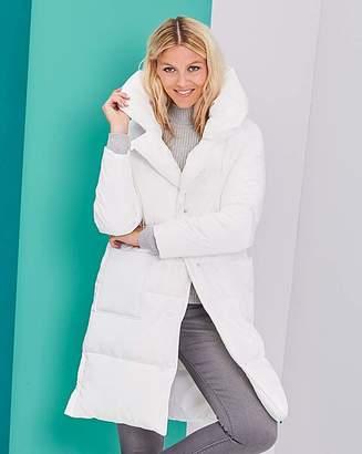 Fashion World Longline Puffer Jacket
