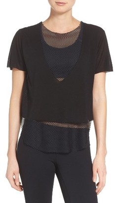 Women's Koral Double Layer Tee $95 thestylecure.com
