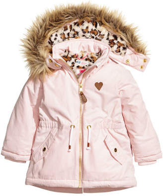 H&M Padded Parka - Pink
