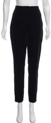 Diane von Furstenberg High-Rise Velvet Pants