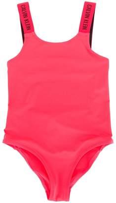 Calvin Klein Kids round neck swimsuit