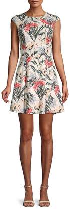 Style Stalker Stylestalker Women's Valerie Printed A-Line Dress
