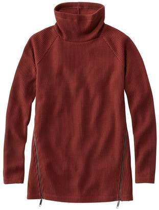 L.L. Bean L.L.Bean Women's Signature Mock-Neck Waffle Tunic