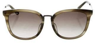 Gucci Gradient Web Sunglasses w/ Tags