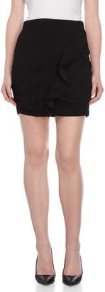 BCBGeneration Ruffle Accent Mini Skirt
