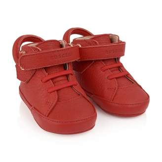 Buscemi BuscemiRed Leather 10MM Baby Shoes