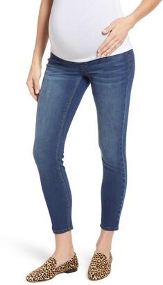 552e3934e3c93 1822 Denim Stretch 360 Ankle Skinny Maternity Jeans