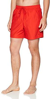 Calvin Klein Men's EURO Solid Swim Trunk