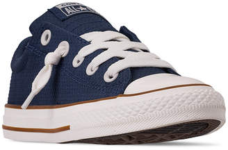 da10a79125854f Converse Little Boys  Chuck Taylor All Star Street Slip Casual Sneakers  from Finish Line