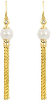 Henri Bendel Pearl Tassel Earring