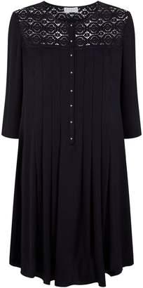 Claudie Pierlot Pleated Lace Dress