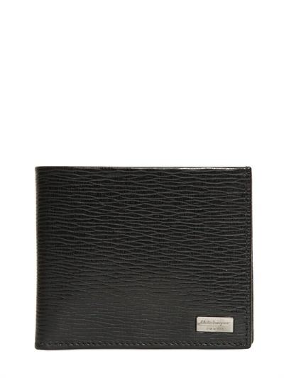Salvatore Ferragamo Revival Print Classic Leather Wallet