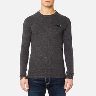 Superdry Men's Orange Label Vintage Long Sleeve T-Shirt