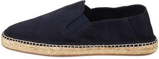 Burberry Men's Suede Slip-On Espadrille Sneakers