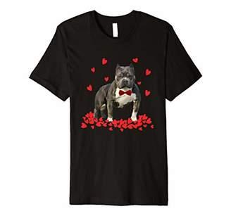 I Love My pitbull T Shirt Valentine gift for pitbull lover
