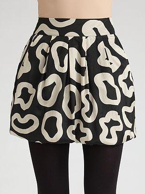 See by Chloe Bubble Camo Mini Skirt