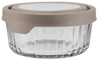Anchor Hocking TrueSeal 4 Cup Embossed Round Food Storage and Lid