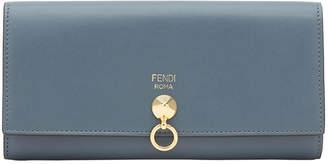 Fendi long studded wallet