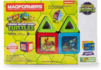 Magformers 18-Piece Teenage Mutant Ninja Turtles Magnetic Set