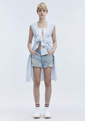 Alexander Wang TIE FRONT DRESS