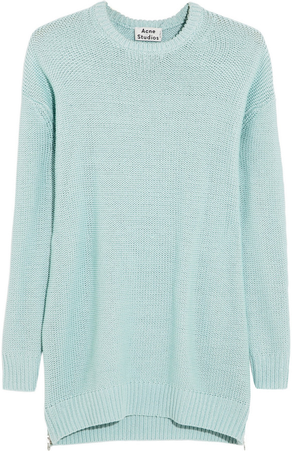 Acne Studios Sade oversized chunky-knit cotton sweater
