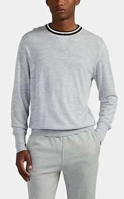 Eleventy Men's Wool Crewneck Sweater - Light, Pastel gray