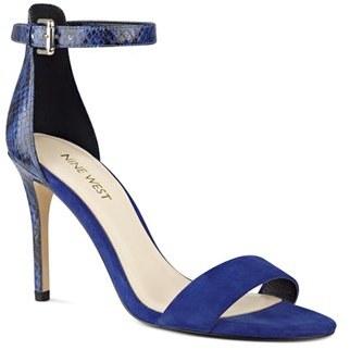 Women's Nine West 'Mana' Ankle Strap Sandal $88.95 thestylecure.com